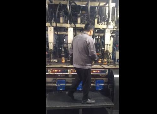 日产60吨电炉生产瓶